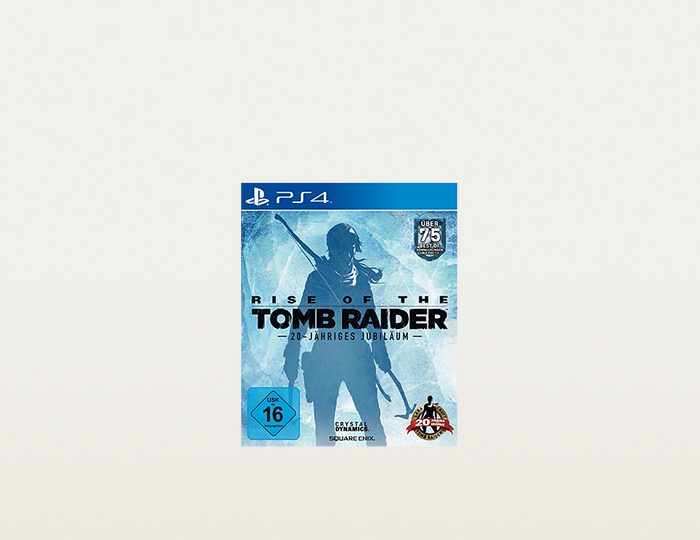 SquareEnix Rise of the Tomb Raider 20 Year Celebration D1 Edition »(PS4)«