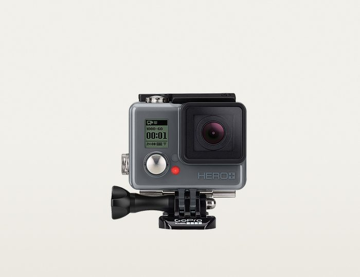 GoPro HERO+ (DE) 1080p SuperView Camcorder & Tripod Mount Mini-Stativ, WLAN, Bluetooth