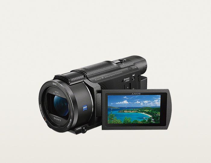 Sony FDR-AX53 Handycam 4K (Ultra-HD) Camcorder, WLAN, NFC