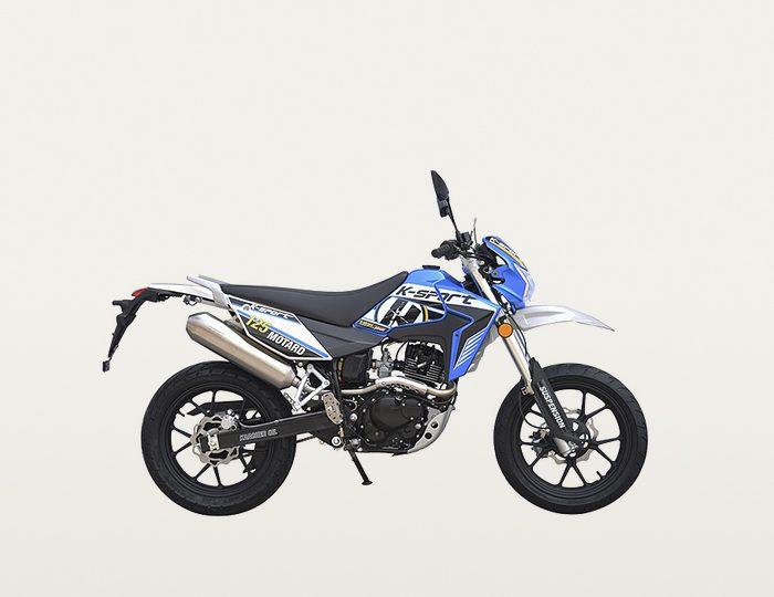 K-Sport Motorrad, 125 ccm, 101 km/h, 11,42 PS, »Motard Supermoto 125«