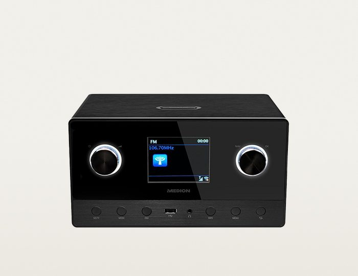MEDION® LIFE® P85111 (MD 87295) DAB+/Wifi Internetradio »2.1 Soundsystem, Multiroom«