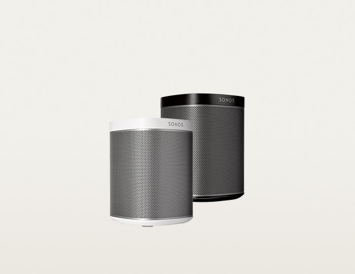 Sonos PLAY:1 - Der kompakte Multiroom Lautsprecher (Smart Speaker) für Wireless Music Streaming