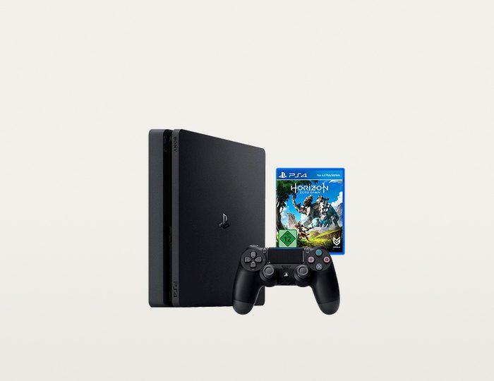 PlayStation 4 (PS4) 500GB Slim + Horizon Zero Dawn (Box)