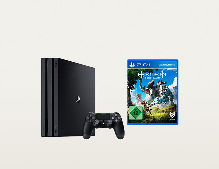PlayStation 4 (PS4) Pro 1TB + Horizon Zero Dawn