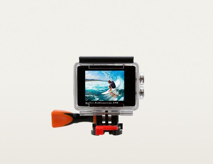 Rollei Actioncam 425 4K (Ultra-HD) Actioncam, WLAN mit Gratis Rollei Outdoor-Set