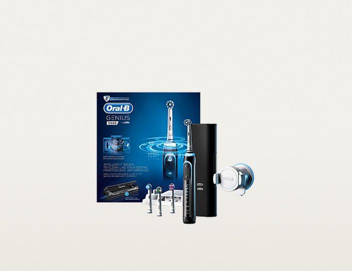 Oral-B Elektrische Zahnbürste Genius 9000 Black