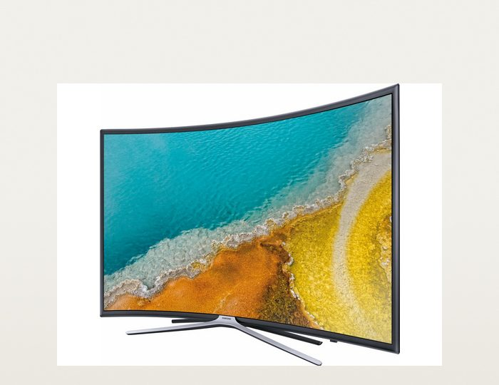 Samsung UE49K6379SUXZG, Curved-LED-Fernseher, 123 cm (49 Zoll), 1080p (Full HD), Smart-TV