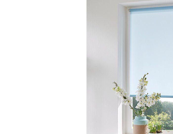 Klemmfix-Seitenzugrollo im Fixmaß, My Home, »Themse-Uni« (1 Stück), Lichtschutz