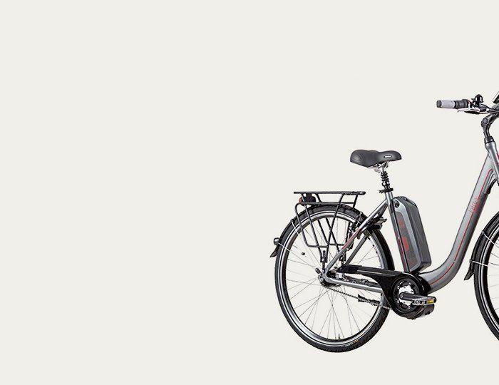 Biria E-Bike City, 28 Zoll, 7-Gg. Shimano Nexus, V-Brake, Rücktritt, Mittelm. 250 W, 36V/ 10A