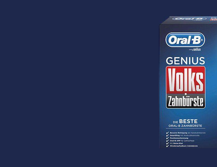 Oral-B Elektrische Zahnbürste Volkszahnbürste Genius