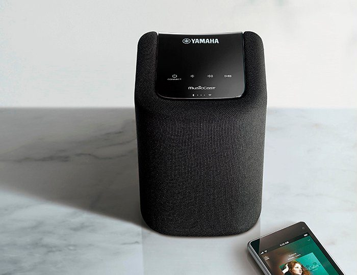 Yamaha MusicCast WX-010 Lautsprecher (Multiroom, Bluetooth, WiFi, Spotify)