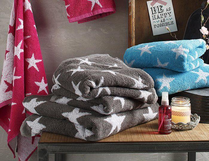 Handtuch Set, my home, »Till«, mit Sternmotiven