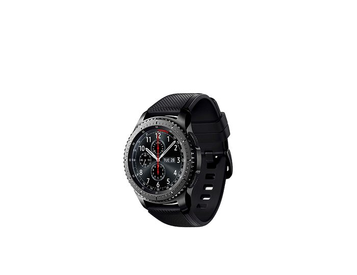 Samsung Gear S3 frontier Smartwatch, Tizen, 3,3 cm (1,3 Zoll) Super AMOLED-Touchscreen Display