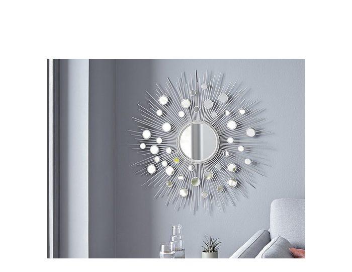 Home affaire Wanddeko ?Spiegel? aus Metall