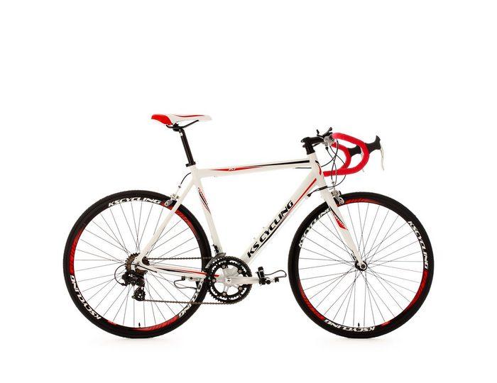 Alu Rennrad, KS Cycling, »Euphoria«, 28 Zoll, SHIMANO 14-Gang-Kettenschaltung, Rennbremsen