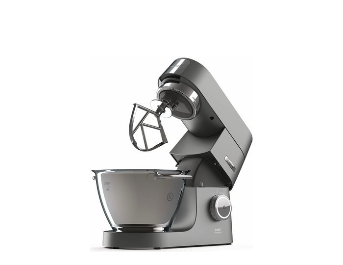 KENWOOD Küchenmaschine Chef Titanium KVC7411S, 1500 W, 4,6 l Schüssel, 5tlg. Patisserie-Set Pro, inkl. Gratiszubehör im Wert от  UVP € 410,95