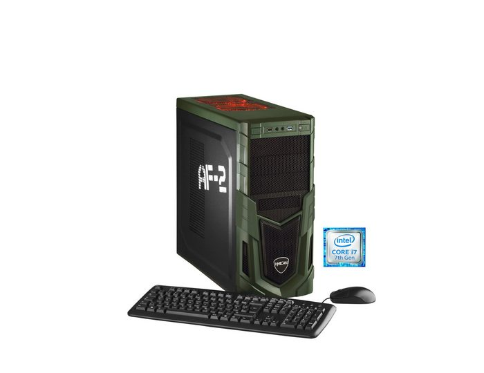 Hyrican Gaming PC Intel® i7-7700K 16GB, SSD + HDD, GeForce® GTX 1080 »Military Gaming 5479«