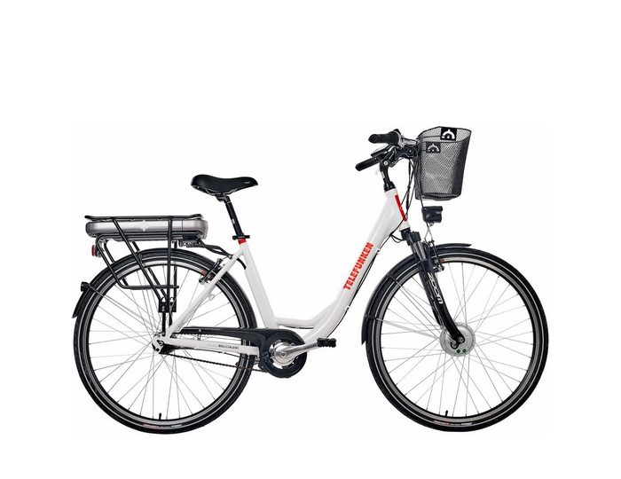 Telefunken Alu City E-Bike, 28 Zoll, 7-Gang Shimano Nexus Nabenschaltung, »RC657Multitalent«