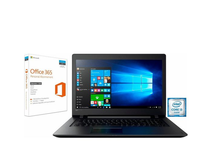 Lenovo 110-17IKB, 80VK0053GE Notebook, Intel® Core™ i3, 43,9 cm (17,3 Zoll), 1000 GB Speicher