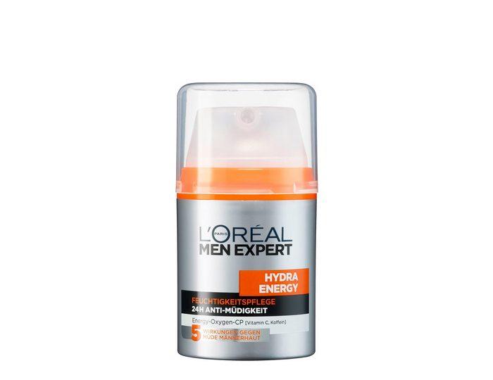 L'Oréal Paris Men Expert, »Hydra Energy Feuchtigkeitspflege 24H Anti-Müdigkeit«, Männerpflege
