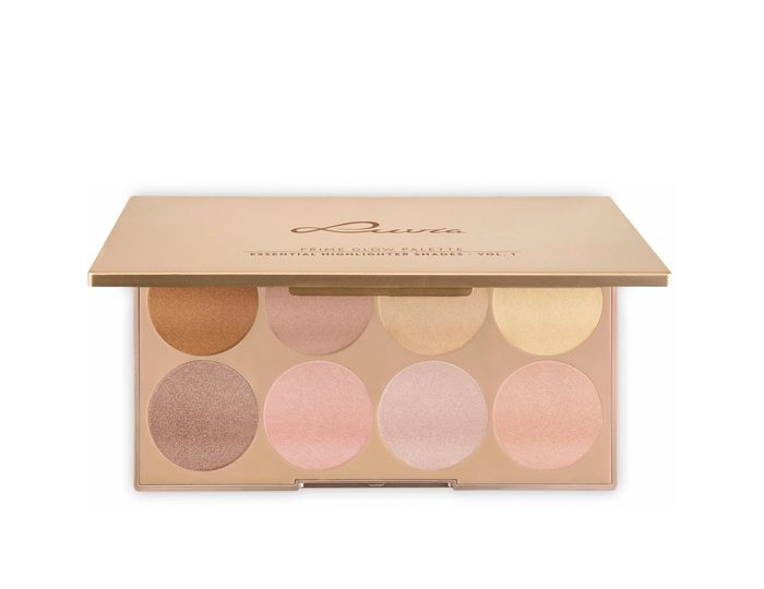 Luvia Cosmetics, »Prime Glow Palette - Essential Contouring Shades Vol. 1«, Vegane Highlighter Palette