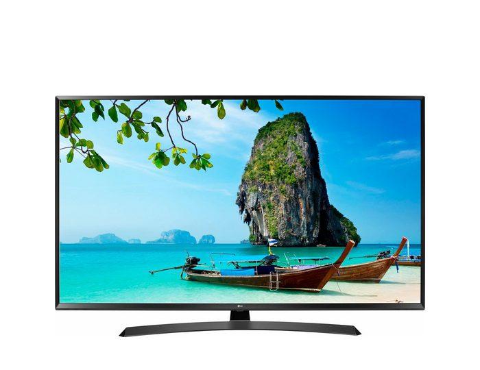 LG 43UJ635V LED-Fernseher (108 cm/43 Zoll, 4K Ultra HD, Smart-TV, 36 Monate Garantie)