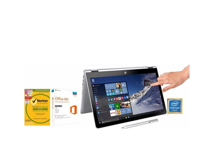 """HP Pavilion x360 15-br016ng/15-br017ng, 15,6"""" Touch Convertible Notebook, Intel® Pentium™"""