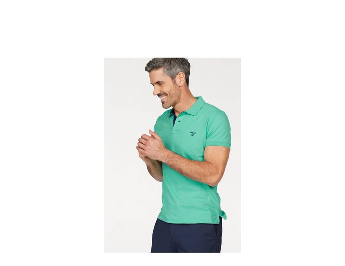 Gant Poloshirt, in Pique-Qualität