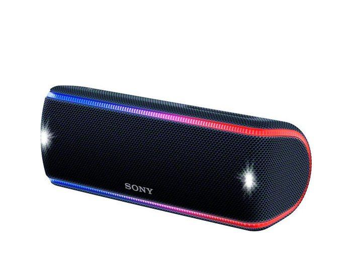 Sony SRS-XB31 Portable-Lautsprecher (Bluetooth, NFC, Extra Bass, Live Sound Modus, Freisprechfunktion, Ladefunktion für Mobilgeräte)