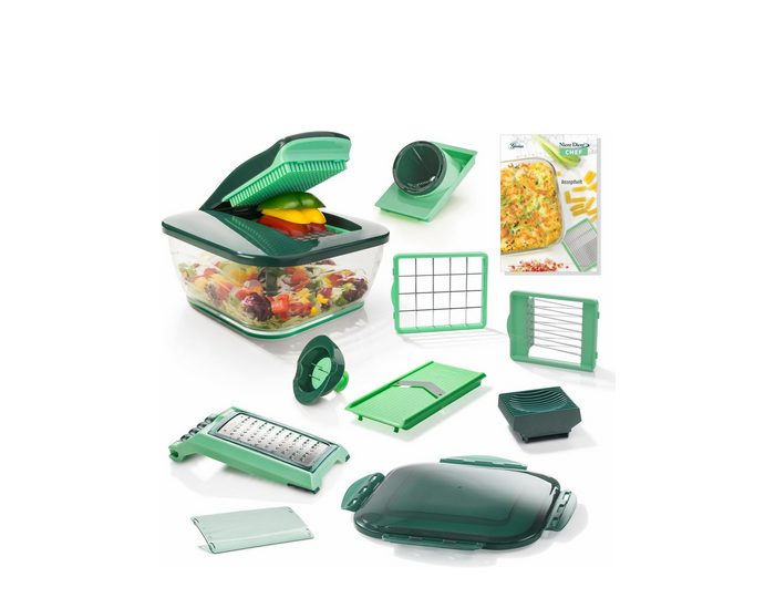 Genius® Nicer Dicer Chef, Set 15-teilig, 3300 ml