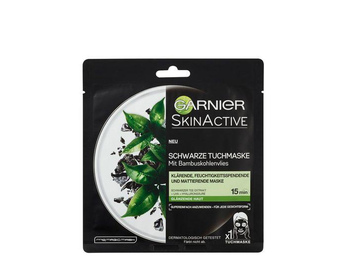 Garnier, »Skin Active Schwarzer Tee Extrakt«, Tuchmaske