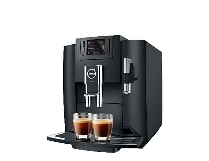 JURA Kaffeevollautomat 15083 E80 Piano Black