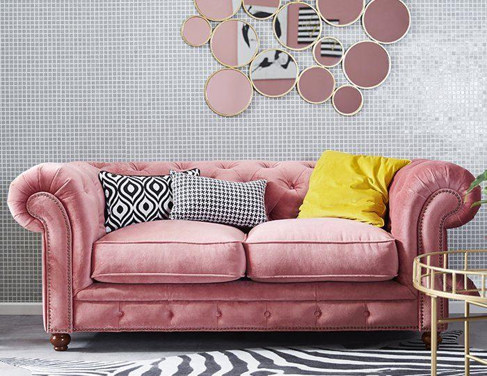 Max Winzer® Chesterfield 2-Sitzer Sofa »Old England« im Retrolook, Breite 192 cm