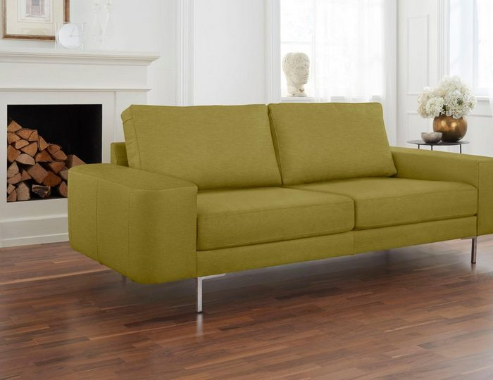 Alte Gerberei 2-Sitzer Sofa »Lexgaard« mit großer Bodenfreiheit, inklusive Rückenkissen