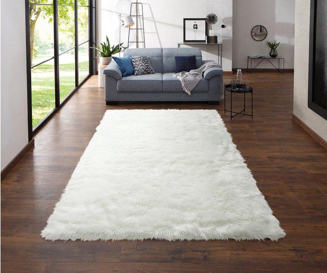 Hochflor-Teppich »Dena«, my home Selection, rechteckig, Höhe 60 mm