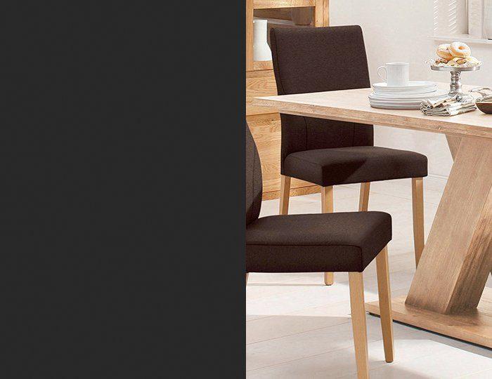 Home affaire Esstisch »Milas«, aus massivem Akazienholz in zwei Breiten
