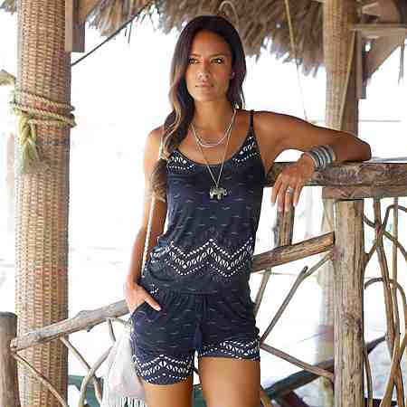 Bademode: Strandbekleidung: Strandoveralls