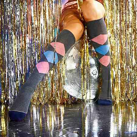 Damen: Wäsche: Socken: Kniestrümpfe