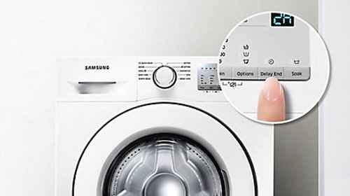 RCP 511447218 Samsung WW80J3470KW Detail Endzeitvorwahl