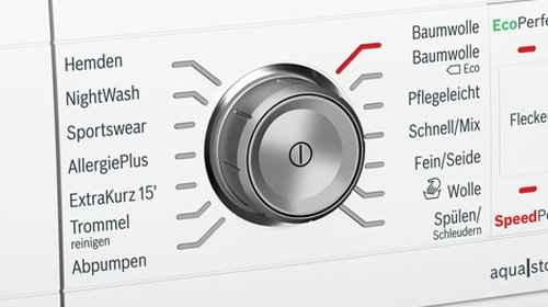 RCP 571465955 Bosch Serie8 WAW32541 Detail Programme