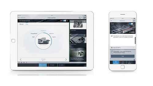 RCP 572353388 Bosch Serie4 SMV46KX01E SmartControl