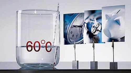 RCP 573286360 Miele G 4940 SCi Weiss Nahaufnahme Wassersparen Warmwasser