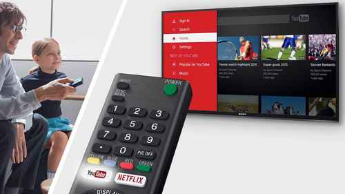 RCP 590110075 Sony KDL40WE665BAEP Netflix