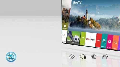 RCP 592672258 LG 65SJ9509 LED Smartfunktionen