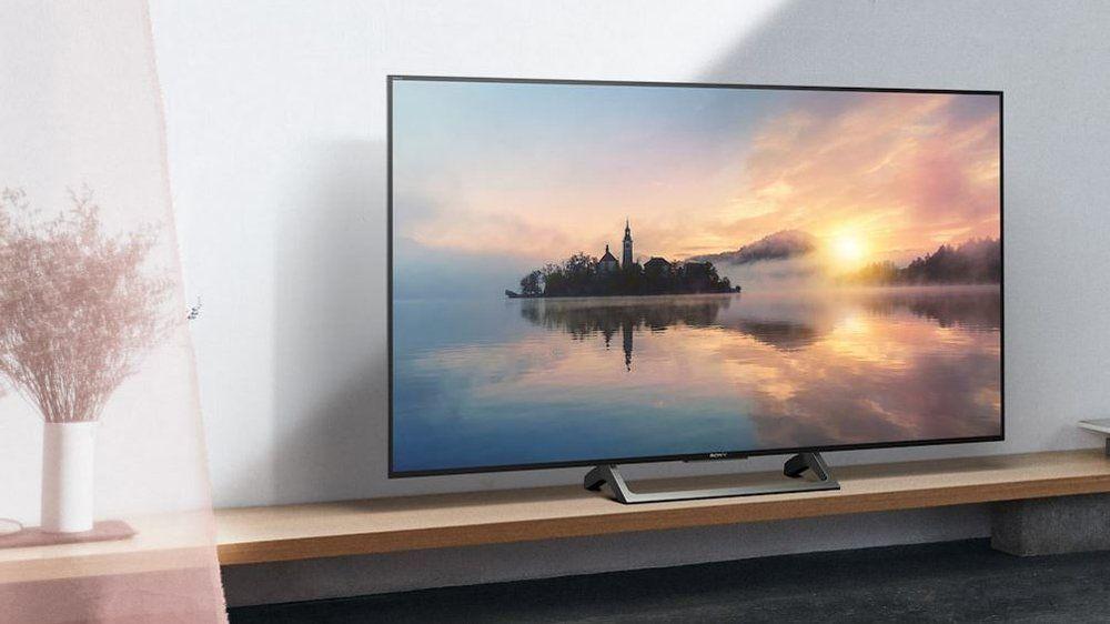 sony kd55xe7005 led fernseher 55 zoll 4k ultra hd smart tv online kaufen otto. Black Bedroom Furniture Sets. Home Design Ideas