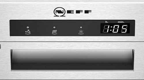 RCP 612950079 NEFF GI3600AN / S413A60S0E Nahaufnahme Display Aqua Stop
