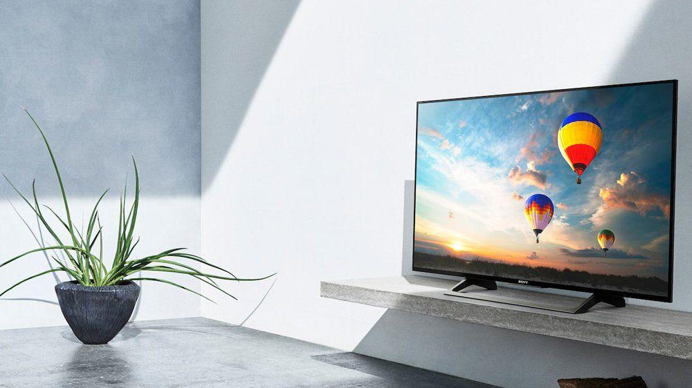 sony kd43xe8077 led fernseher 108 cm 43 zoll 4k ultra hd smart tv online kaufen otto. Black Bedroom Furniture Sets. Home Design Ideas