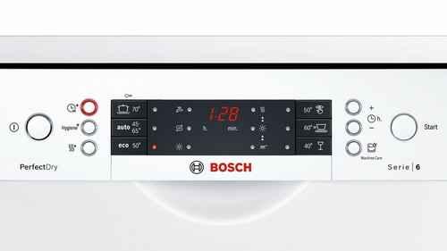 RCP 63115577 Bosch SPS66TW01E Programme