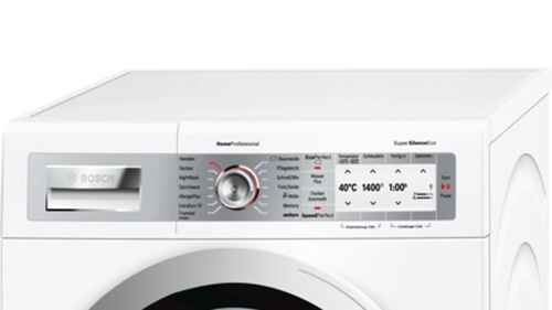 RCP 639596120 Bosch HomeProfessional WAY28W5 Detail Display