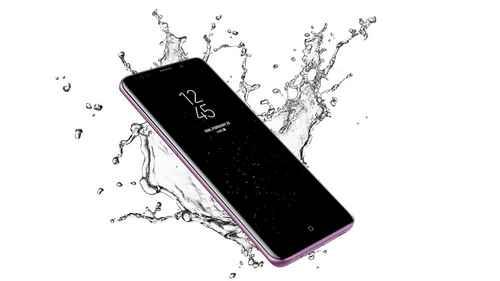 RCP 662379027 Samsung S9 Wasserfest